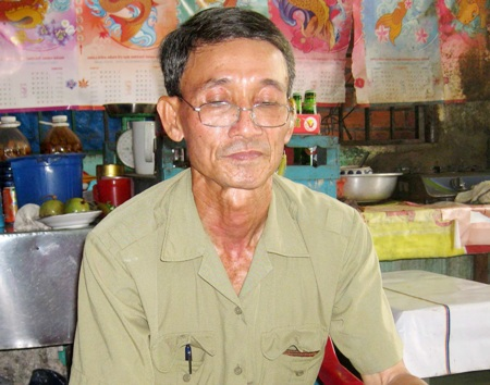 Ông Nguyễn Thành Trung đang mong chờ từng ngày được nhận lại quyền lợi sau 23 năm bị oan.
