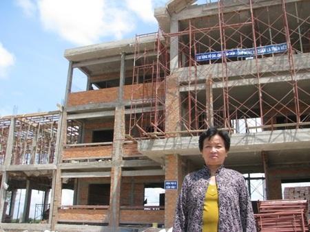 Ngôi trường THPT đang được xây dựng (