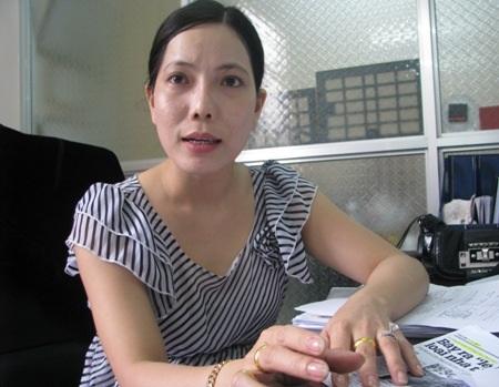 Bà Trần Hồng Ly. (Ảnh: Huỳnh Hải)