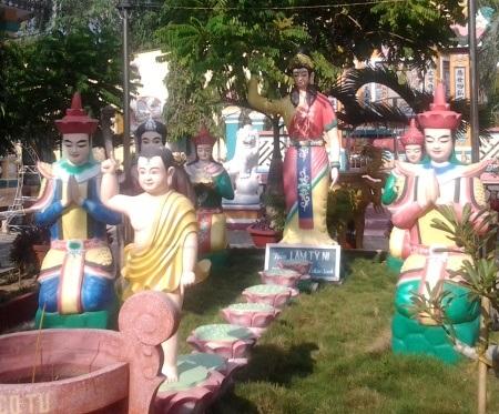 ...và nơi Phật sanh