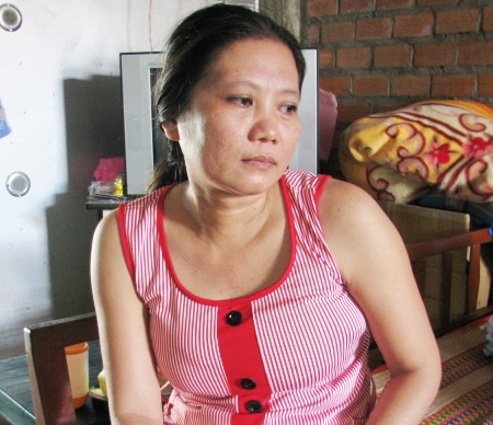 Gia đình anh Lâm- chị Tuyền.