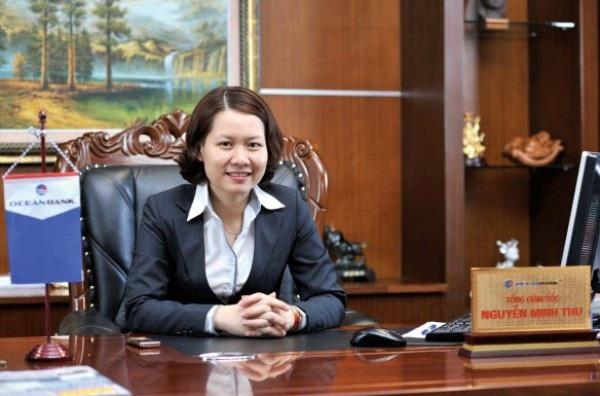 Tân Chủ tịch HĐQT OceanBank Nguyễn Minh Thu