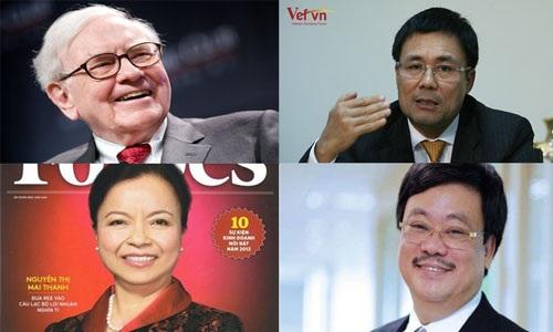 Đại gia Việt xây đế chế theo độc chiêu Warren Buffett
