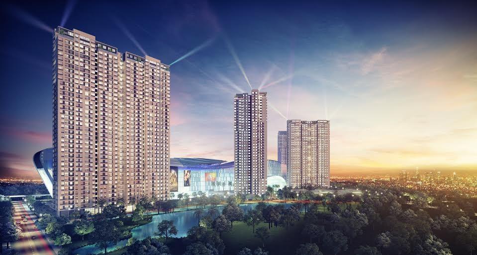 Phối cảnh dự án Masteri Thảo Điền (159 Xa lộ Hà Nội, Thảo Điền, Q.2, TP.HCM)