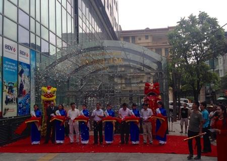 Hà Nội có thêm chợ truyền thống trong trung tâm thương mại