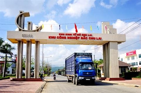 Khu kinh tế mở Chu Lai. Ảnh: Báo Quảng Nam