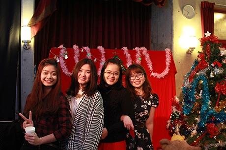 Giáng Sinh Trắng đã trở thành một kỷ niệm đẹp khó quên trong lòng các bạn trẻ