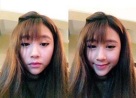 Gương mặt cô đã thay đổi khá nhiều so với thời điểm cách đây 3 năm