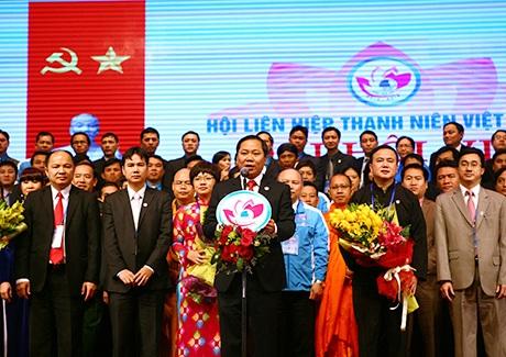 Đoàn chủ tịch Đại hội đại biểu Hội LHTN Việt Nam khóa 7
