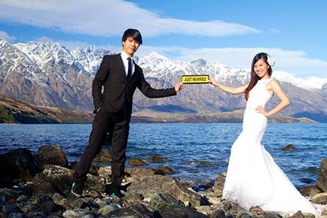 Ảnh cưới của Thành và Ngọc tại NewZealand
