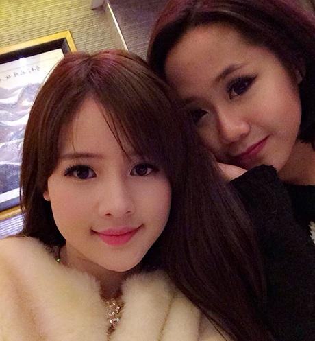 Bức ảnh chụp cận mặt của Thy Trang đã khiến nhiều người nhận lầm với...