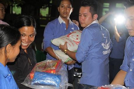 Anh Phạm Duy Phong trong một chuyến tình nguyện.