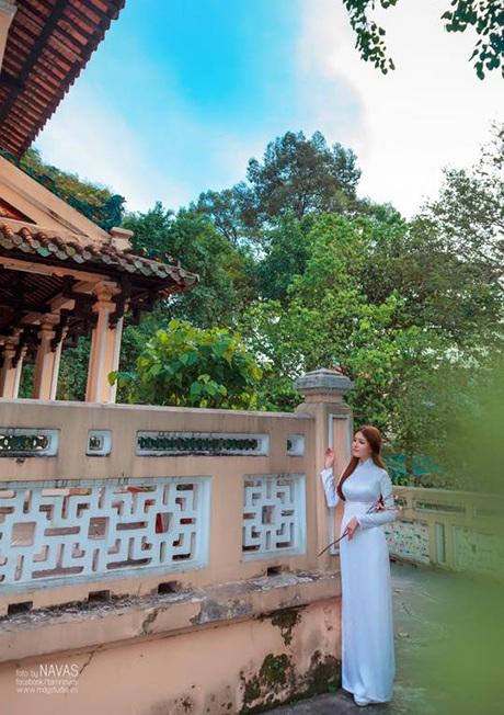 Những ngày cuối năm, không gian chùa chiền mang lại sự thanh thản trong lòng người