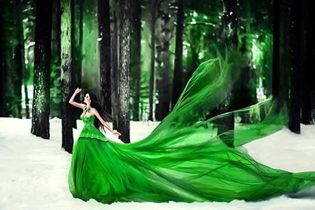 Ảnh của Maria Lipina gây ấn tượng với những bộ váy tuyệt đẹp