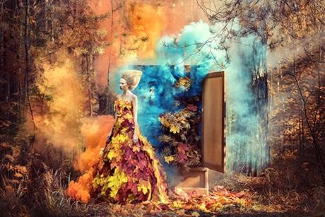 Ý tưởng sáng tạo độc đáo luôn là tiêu chí hàng đầu của cô trong những bộ ảnh