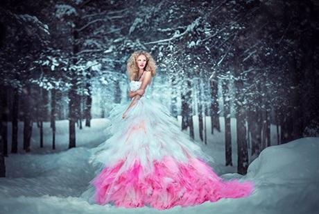 Bên cạnh sự nỗ lực của nhiếp ảnh gia, theo cô, người mẫu cũng cần hi sinh để có một bức ảnh đẹp