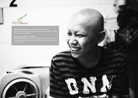 Nguyễn Hoàng Nam, 15 tuổi, em mắc