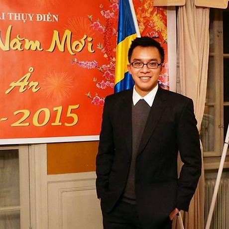 Du học sinh Việt tại Thụy Điển. Đinh Tuấn Hải