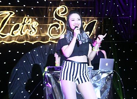 Cô gái đảm nhận giọng nữ chính diện của nhóm 36 Lang.