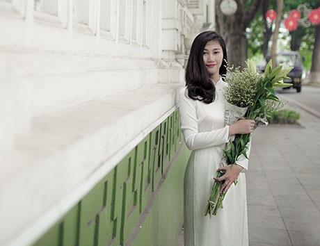 Hoàng Thu Giang, sinh năm 1994, hiện đang là sinh viên trường Đại học Lao động và xã hội