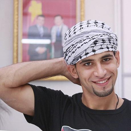 Saleem Hammad là một trong những sinh viên người Palestine đầu tiên học tại Việt Nam.