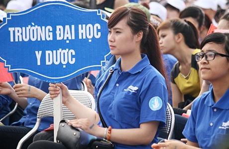 Hơn 5.000 đoàn viên, thanh niên tham dự sự kiện