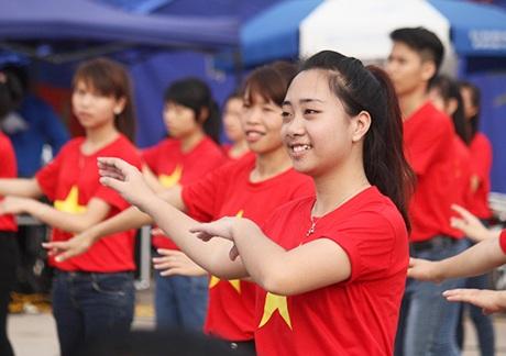 Sự trẻ trung, năng động của tuổi trẻ Thái Nguyên