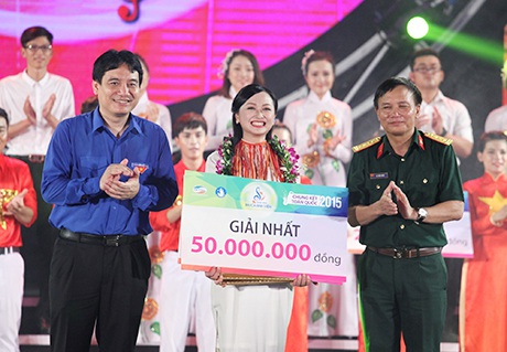 Giải Nhất thuộc về trườngĐại học Kinh tế và Quản trị kinh doanh- Đại học Thái Nguyên.