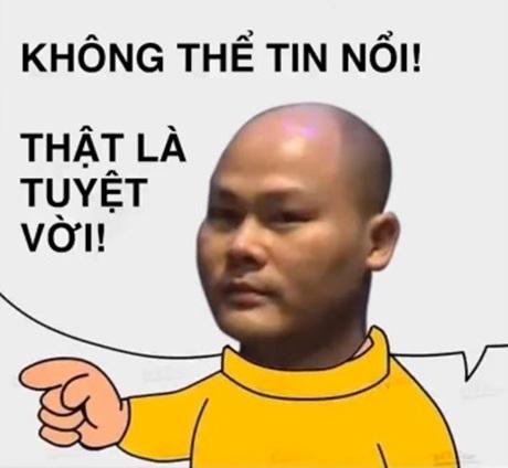 Ảnh chế câu nói Thật không thể tin được của ông Quảng (Ảnh: Facebook)