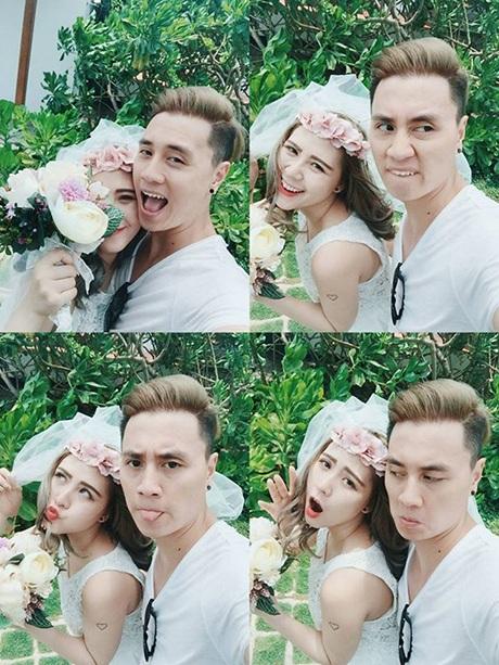 Couple xì tin Heo Mi Nhon và Kiên Hoàng