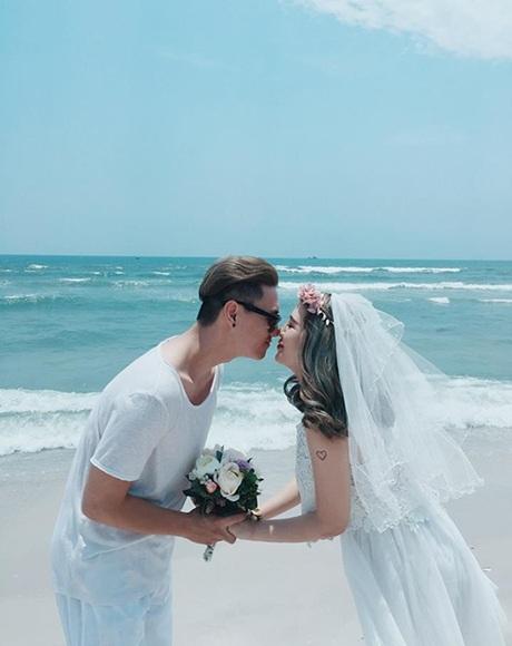 Ảnh cưới lãng mạn trên đất Thái Lan của cặp đôi Heo Mi Nhon và Kiên Hoàng
