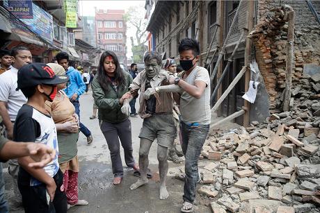 Động đất tại Nepal gây nên cuộc khủng hoảng nhân đạo
