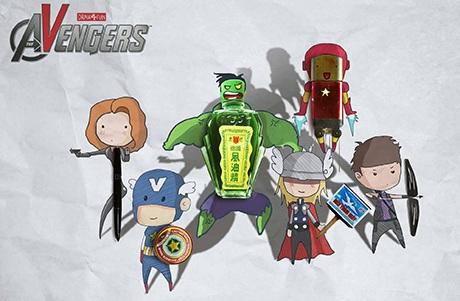 Biệt đội siêu anh hùng trong Avengers