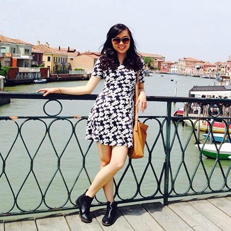 Nguyễn Thu Trang, du học sinh tại Hà Lan.