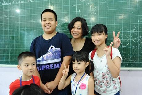 Nhiều em nhỏ coi Nhật Nam là thần tượng