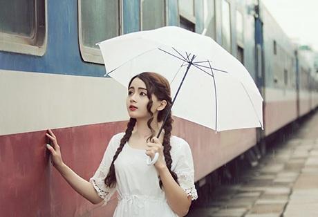 Bộ ảnh được thực hiện tại nhà ga Sài Gòn