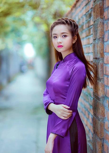 """Vì yêu mến cô, dân mạng đã đặt cho cô nick-name """"cô gái đẹp nhất Tuyên Quang""""."""