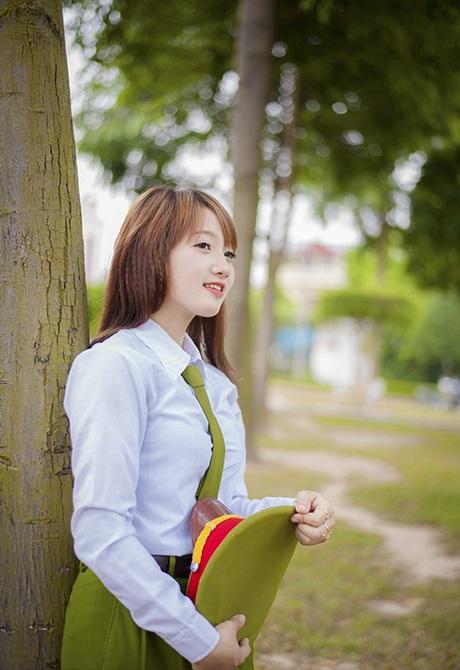 Hoàng Huyền Trang, sinh năm 1994, sinh viên chuyên ngành Kế toán của trường đại học Hải Dương