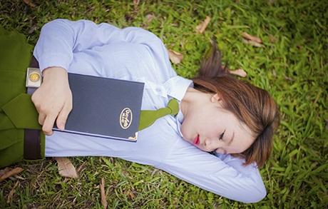 Trang thường xuyên tham gia các phong trào văn nghệ ở trường