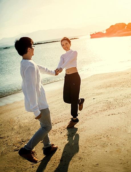 Ngày chị nhận lời yêu anh cũng là ngày anh cảm thấy hạnh phúc vô cùng.
