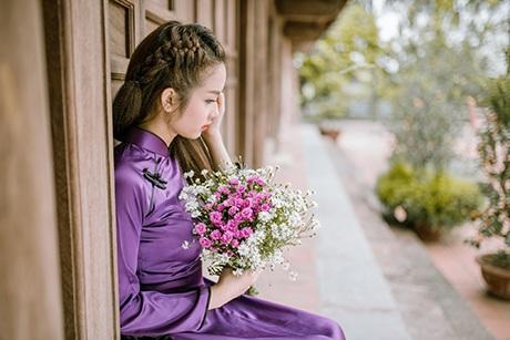 Nữ sinh này sinh năm 1993, đang là SV trường ĐH Mỹ thuật Công nghiệp Hà Nội.
