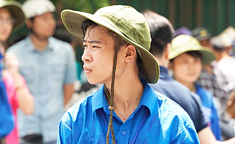 Đội trưởng đội SVTN trường ĐH KHXH&NV - Lê Quang Pháp