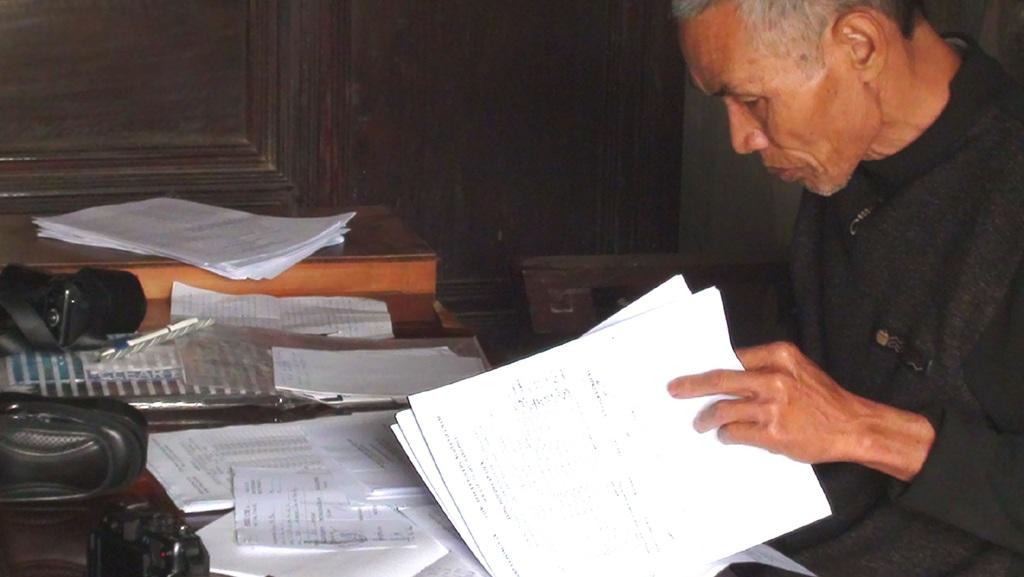 Ông Hoàng Nghĩa Quý - người phát hiện và dám đứng ra tố cáo hành vi của lãnh đạo xã Đồng Văn.
