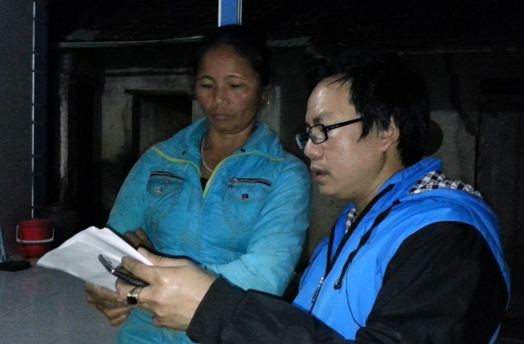 Xóm Văn Sơn với 27 hộ nhưng cũng chung cảnh với các xóm khác khi các hộ dân đã ký.