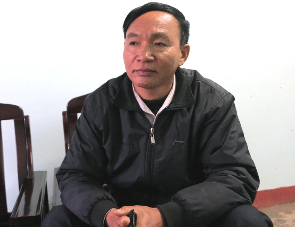 Ông Phạm Công Lý - Chủ tịch UBND xã Đồng Văn thừa nhận có sai sót.
