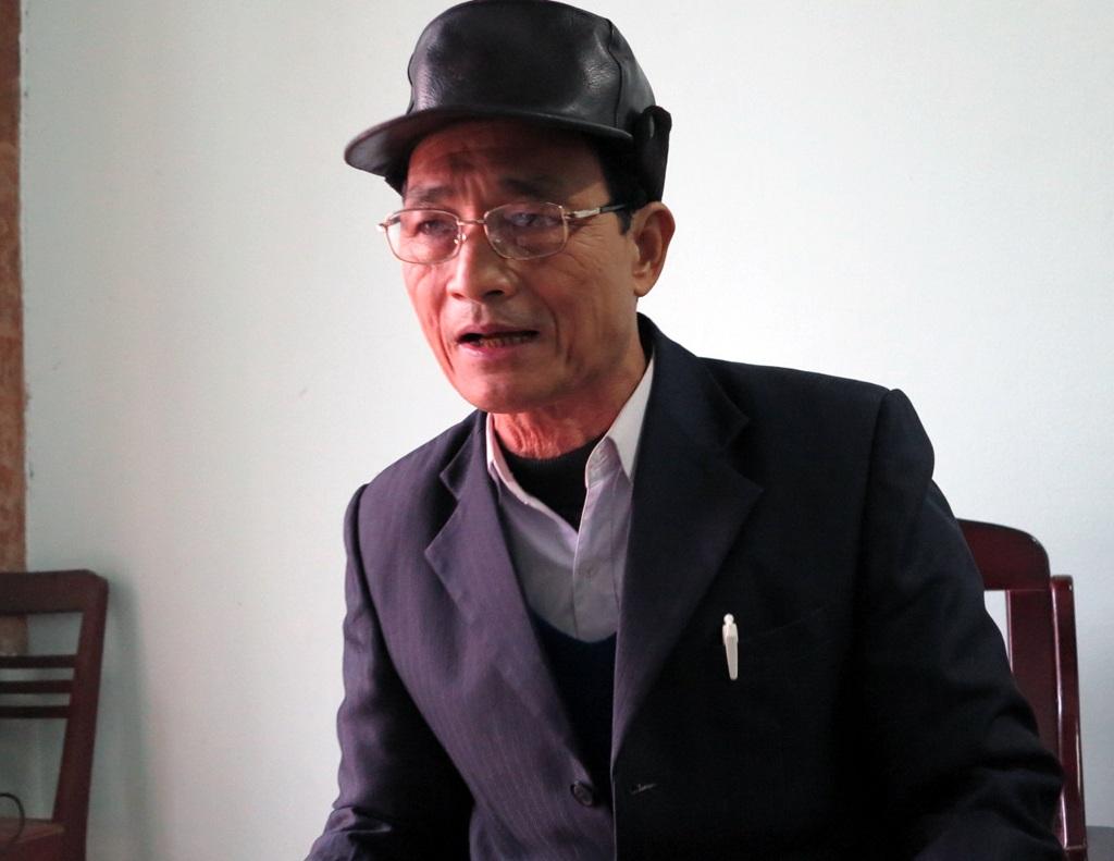 Ông Nguyễn Như Phúc - Chủ tịch Hội nông dân xã Đồng Văn cũng thừa nhận có sai sót này.