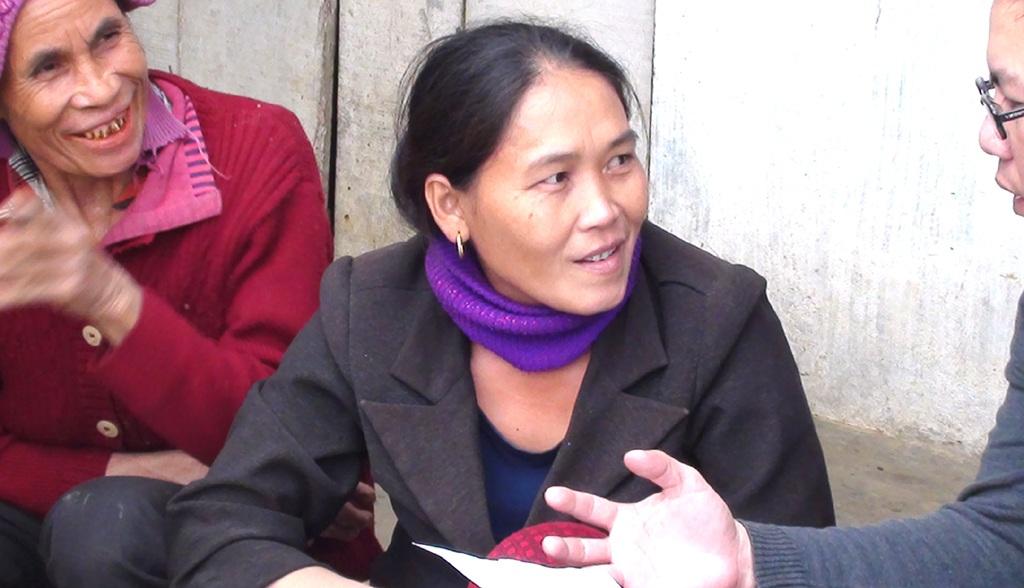 Chị Phan Thị Nhàn trình bày với PV rằng, mình chỉ nhận được 300 ngàn đồng từ o Hương con bác Phúc.