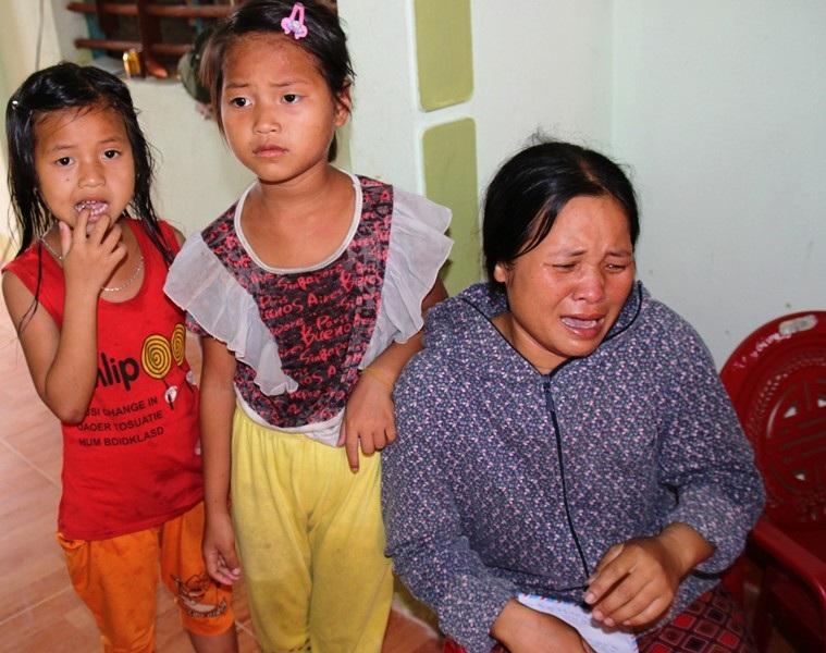 Gia đình bé Hà My vẫn lo lắng khi chưa tìm thấy thi thể con mình.