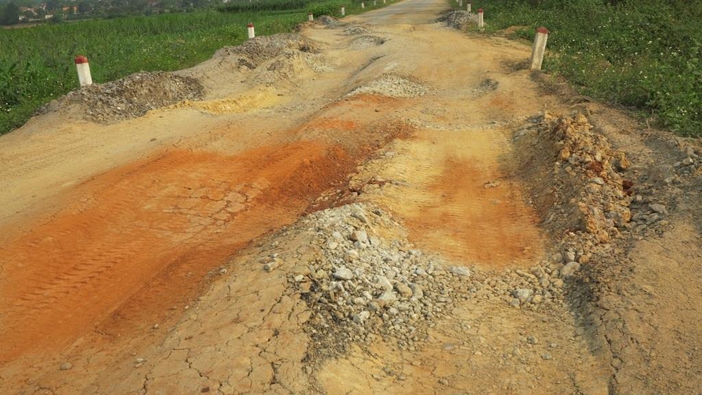Một số điểm được bồi thêm đất mới có thể lưu thông.