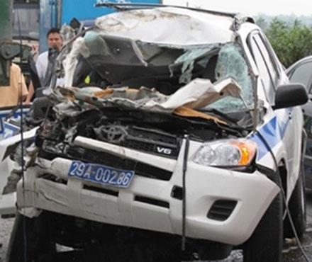 Vụ 3 CSGT tử nạn: Xe cảnh sát chạy bằng 1/5 tốc độ máy bay!